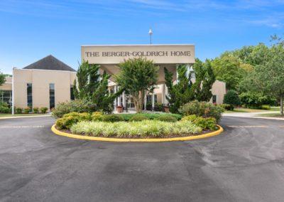 Berger-Goldrich Home exterior
