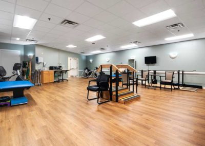 Berger-Goldrich gym