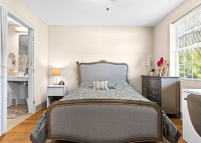Terrace apartment bedroom