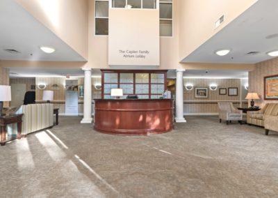 Terrace reception area